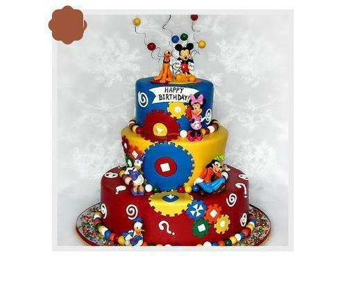 Groovy Disney Cake At Rs 6000 Number Sector 24 Gurgaon Id 16893889462 Personalised Birthday Cards Paralily Jamesorg