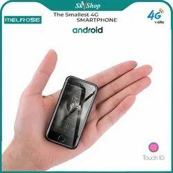 Skyshop Melrose 4G LTE Volte World''s Mini Smartphone Android 7.0 Fingerprint Mobile