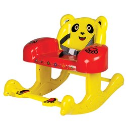 Multicolor Panda Baby Rocking Chair