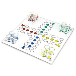 Drinking Ludo Shot Party Game