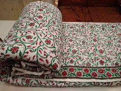 Fancy Printed Double Bed Razai