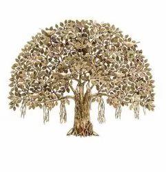 Unique Handicraft Brass Wellness Tree, For Decoration