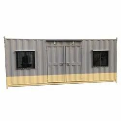 Hind Protable Ms Double Door Office Cabin