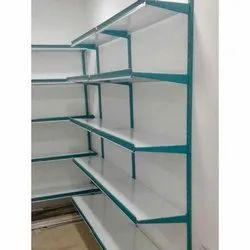 4 - 10 Feet Free Standing Unit MS Supermarket Display Rack, 5 Shelves