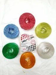 Plastic Twine Sutli Next To Virgin