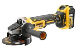 Cordless Angle Grinder 125mm,18v Li-Ion, 5ah  Brushless Dewalt