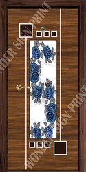 Insulated Decorative Paper Print Door Skin