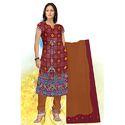 Designer Bandhej Print Suit