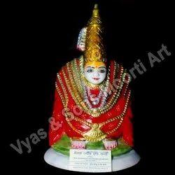 Kalubai Tulja Bhavani Marble Statue