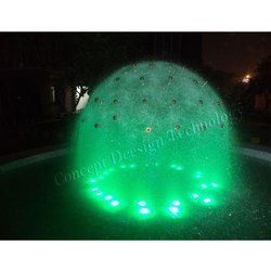 Half Dandelion Fountain