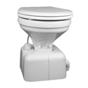 Closed Front White Quiet Flush Electric Toilets With Solenoid Valve, For Bathroom Fitting
