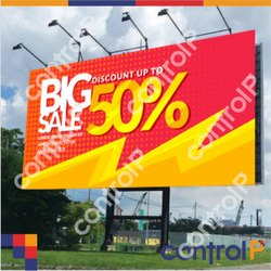 Multicolor Hoarding Sign Board