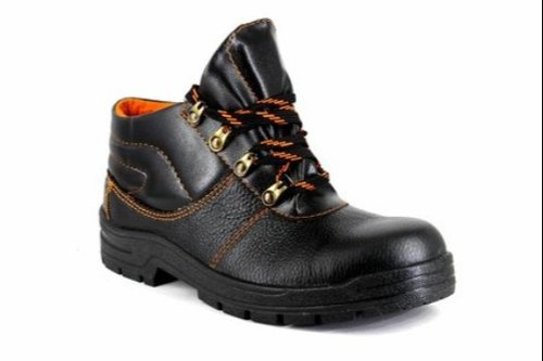 Industrial Men Steel Toe Black Safety