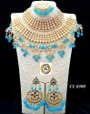 CL Jewellery Customised  Costume Kundan Dulhan Set Wedding Necklace Set