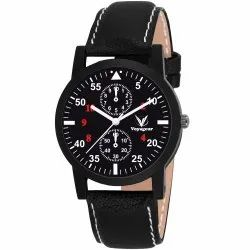 Leather Mens Wrist Watch