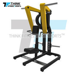 Low Row Plate Loaded  Gym Machine