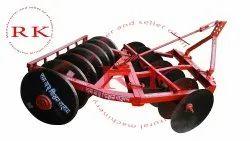 RK Mild Steel 14 Disc Harrow Plough, For Agriculture, 35-55 Hp