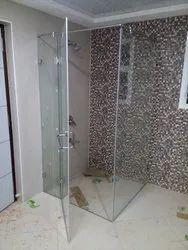 Frame Less Shower Cubicle 90 Degree Model