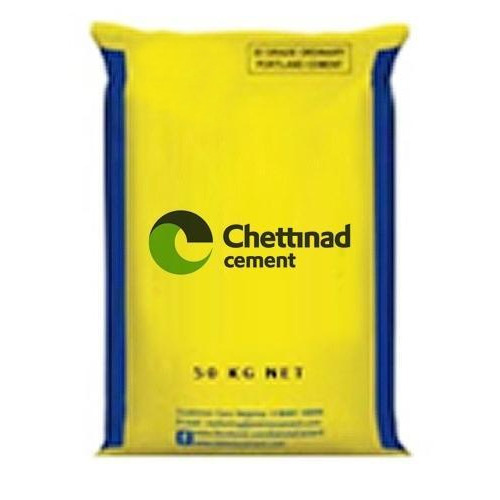 Chettinad Cement, Packaging Type: Sack Bag, Packing Size: 50 Kg
