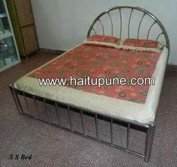 Stainless Steel Double Bed