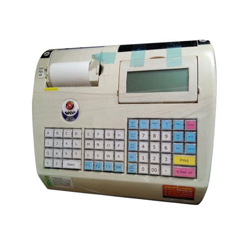 Semi-Automatic WEP BP2100 Billing Machine, For Restaurant