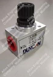 Schrader Duncan Inline Flow Control Valve IL Series