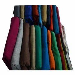 100% Silk Plain Silk Slub Fabric