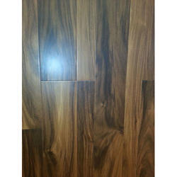 Brown Glossy Wooden Flooring Tile