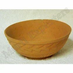 Brown Clay Bowl