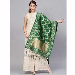 Zarika Hit Color Vol 4 Banarasi Silk Dupatta