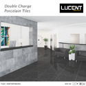 Black Double Charge Vitrified Tiles