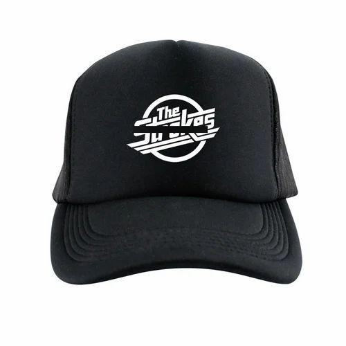 69a5bea05e6 Black Printed Black Cap