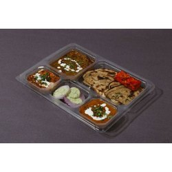 5 Compartment Meal Tray Without Lid