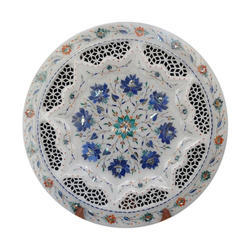 Designer Marble Inlay Plate