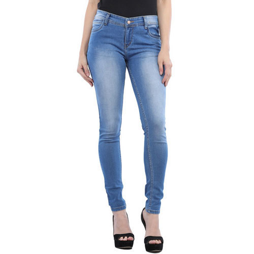 4e9775eb39da Cottinfab Women's Blue Cotton Jeans, Size: 28 - 36, Rs 799 /piece ...