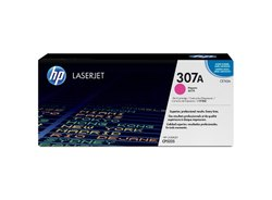 HP 307A Magenta Original LaserJet Toner Cartridge (CE743A)