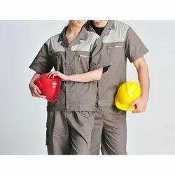 Cotton Worker Factory Uniform, Size: Small, Medium, Large, XL