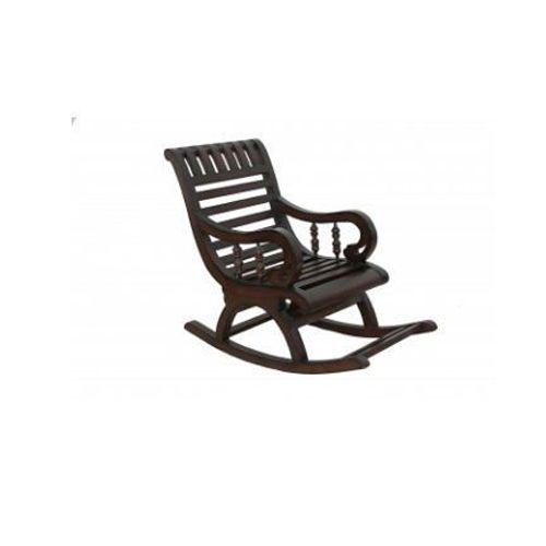 Brown Adlakha Furniure Espresso Comfy Baby Rocking Chair Rs 6000