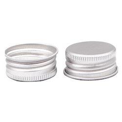 Silver Aluminium Caps