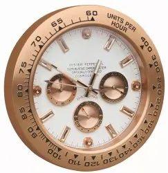 Illuminating Swiss Wall Clock
