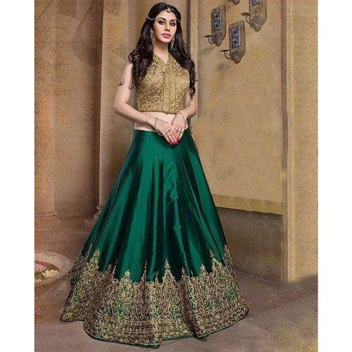 6e2b4ddb40 Ladies Chiffon Party Wear Semi-Stitched Designer Lehenga Choli, Rs ...