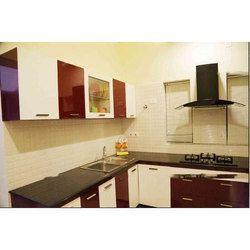 Modern Laminated Kitchen Cabinet