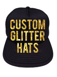 KD Glitter Customized Cap