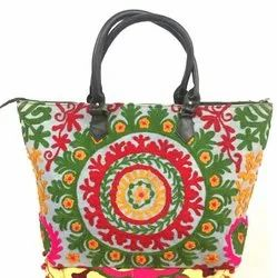Suzani Embroidery Bag