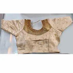 fe5b2e48930a9d Velvet And Cotton Plain Ladies Fancy Blouse Cut Work, Rs 30 /piece ...