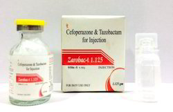 Cefoperazone 1gm Tazobactum 125 mg Injection