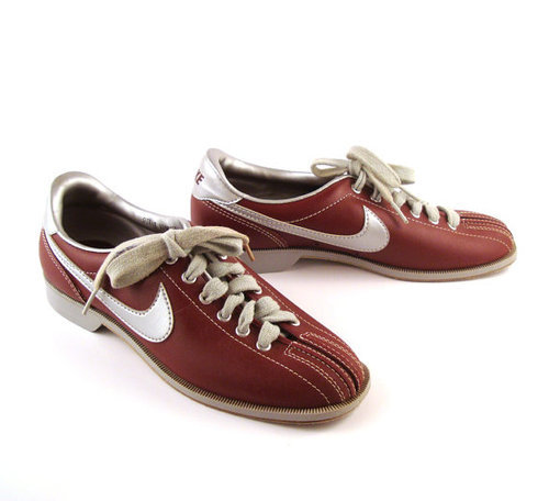 finest selection best authentic cute NIKE White And Blue Bowling Shoes, Step-in | ID: 19303368191