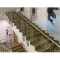 Modular Stainless Steel Glass Railing