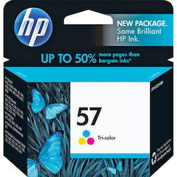 HP 57A Color Ink Cartridges