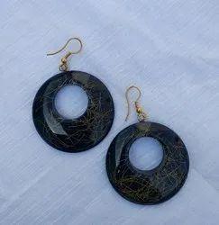 Party Golden Earrings Set